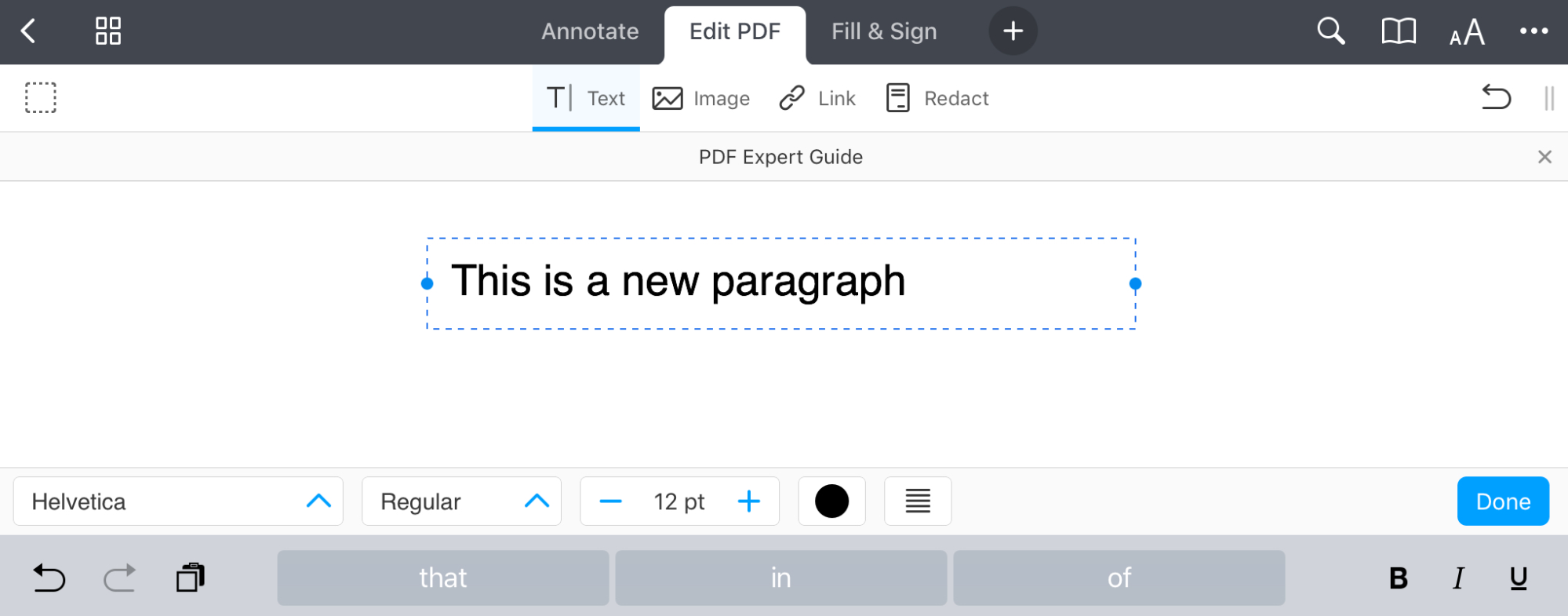 Edit PDF on iPhone | How to edit PDF on iPad and iPhone