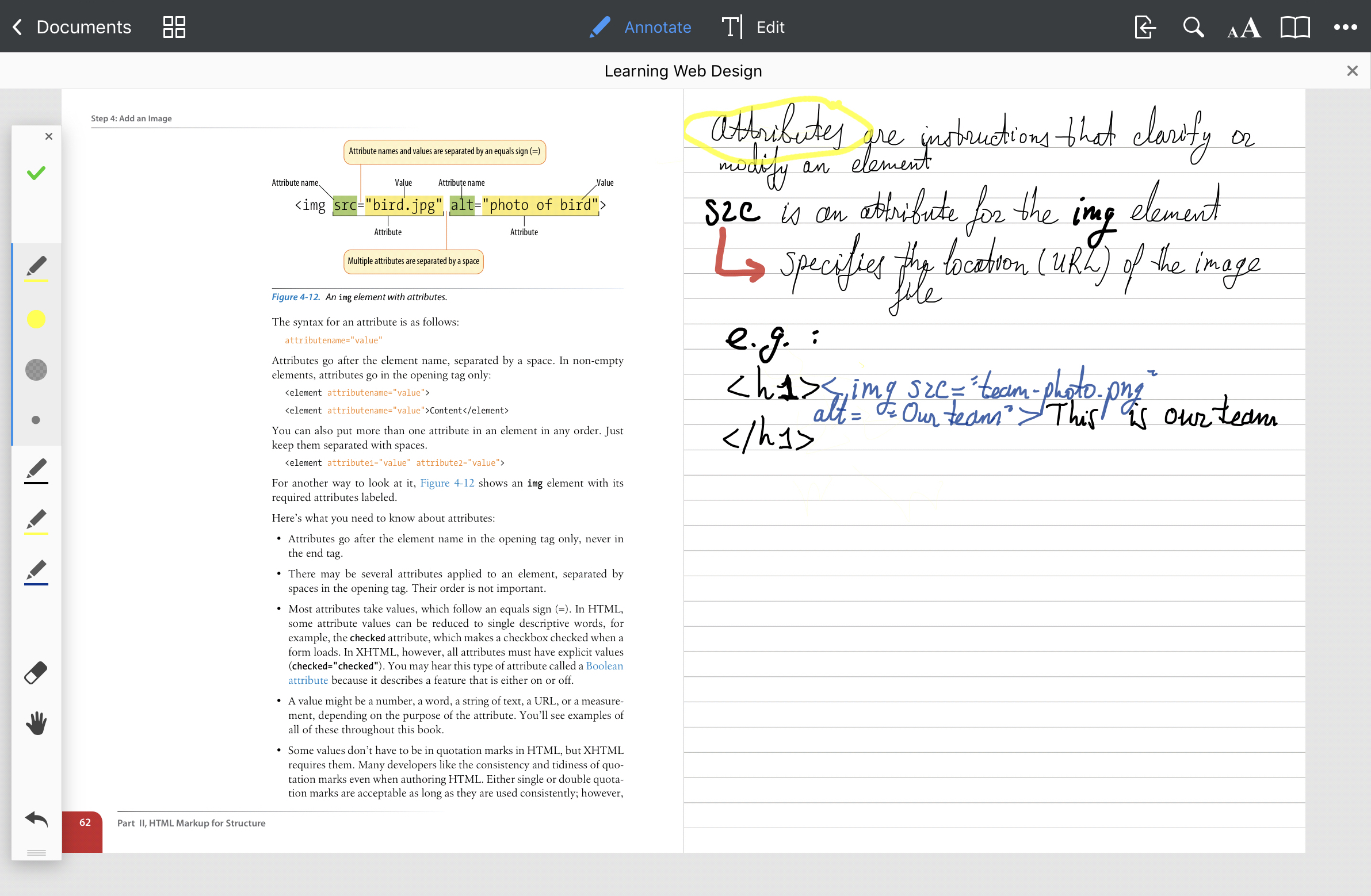 How to take notes on iPad | PDF Expert note-taking app