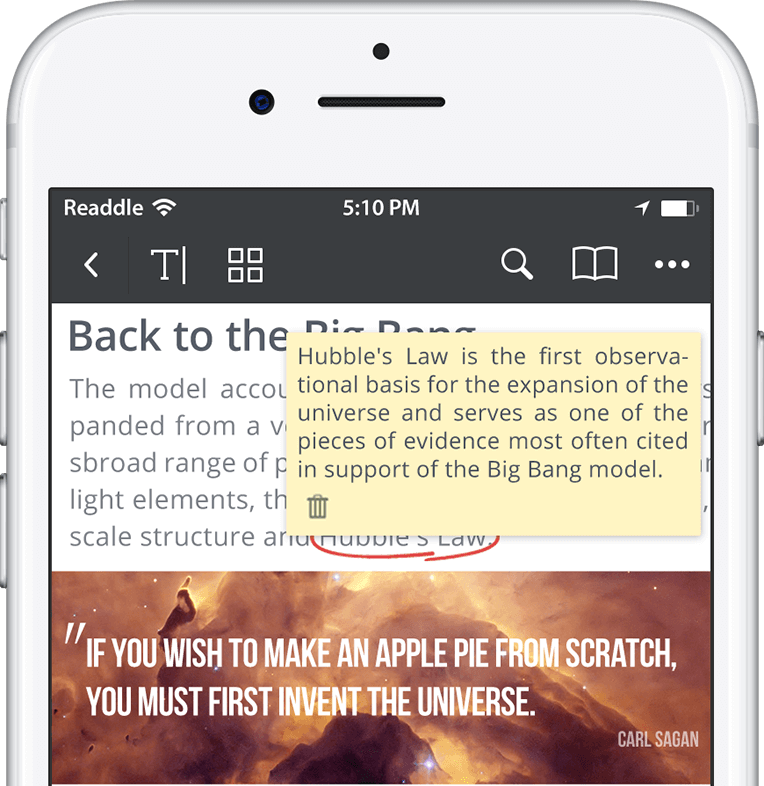 How to annotate pdf on ipad and iphone best pdf annotator ipad you can create two types of notes ccuart Images