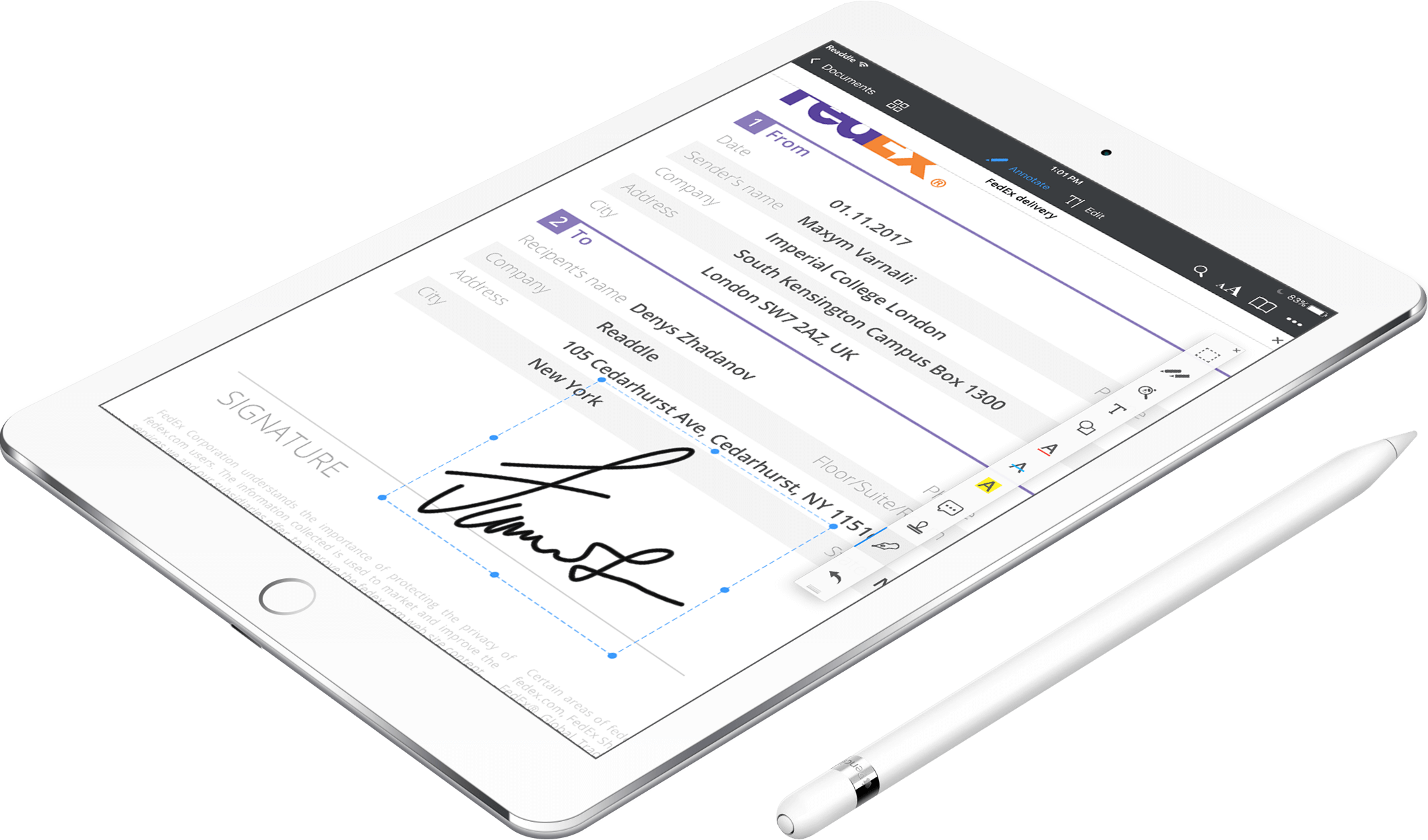 How to edit pdf files with apple pencil