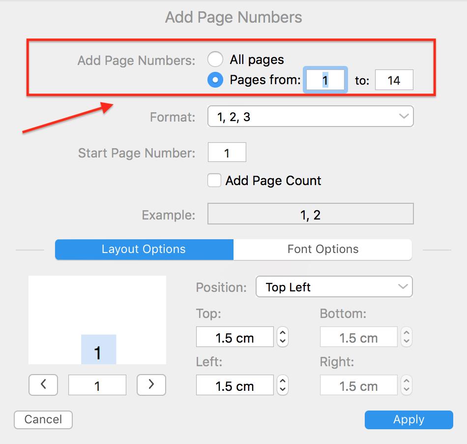 Comment Ajouter Les Numeros De Page A Un Pdf Sur Mac Pdf