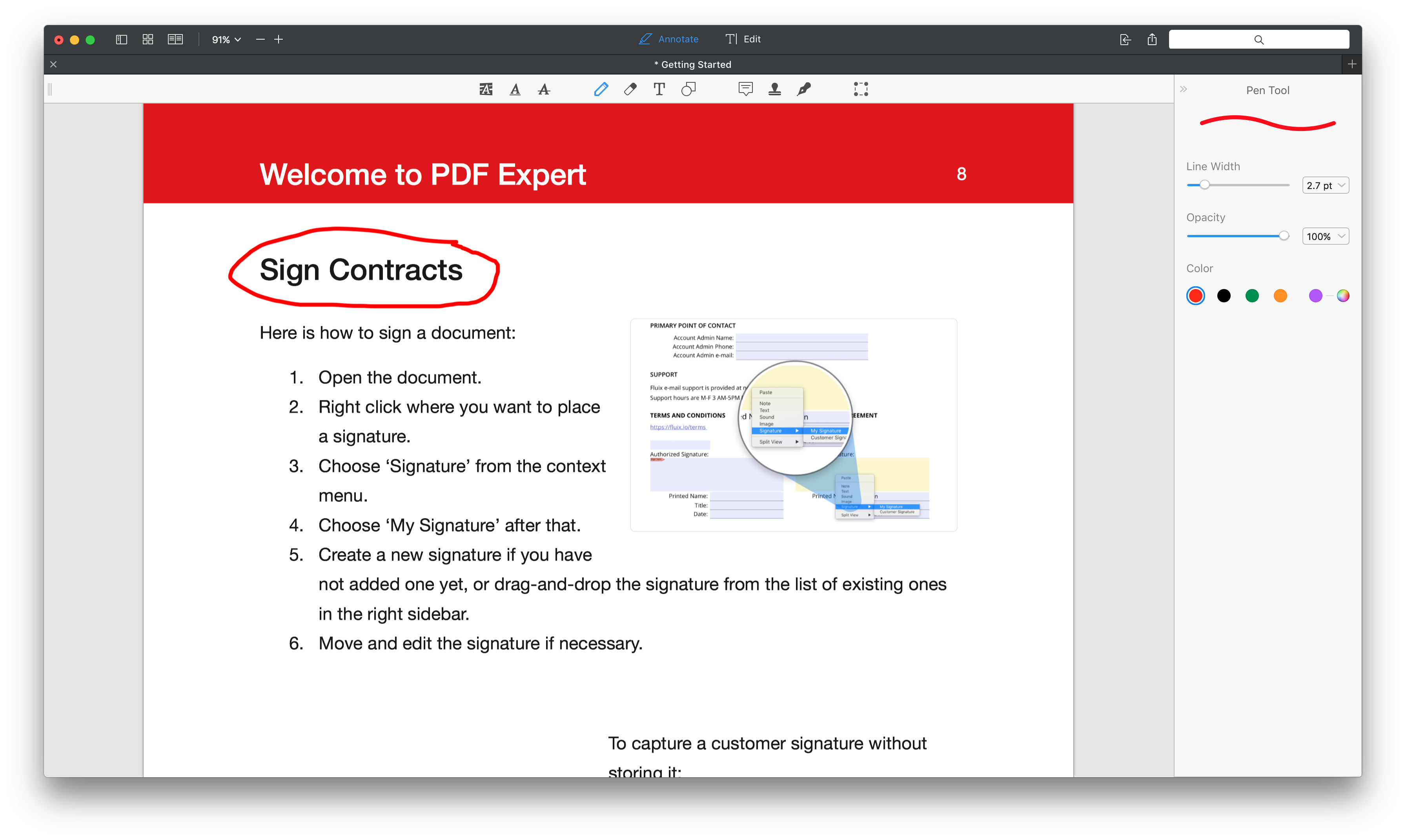 How to annotate PDFs on your Mac? | PDF Expert