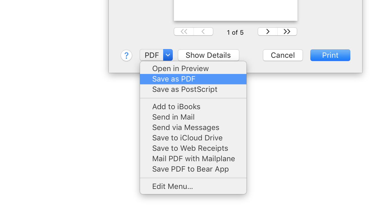 how to delete on pdf mac