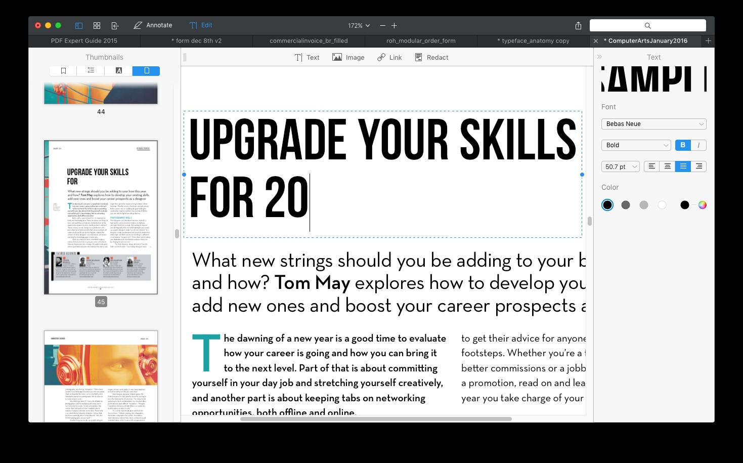 How to edit a PDF on Mac? Edit PDF files on Mac | PDF Expert