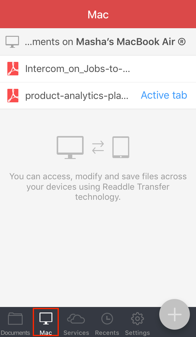 How to transfer and sync PDFs between iPhone or iPad and Mac