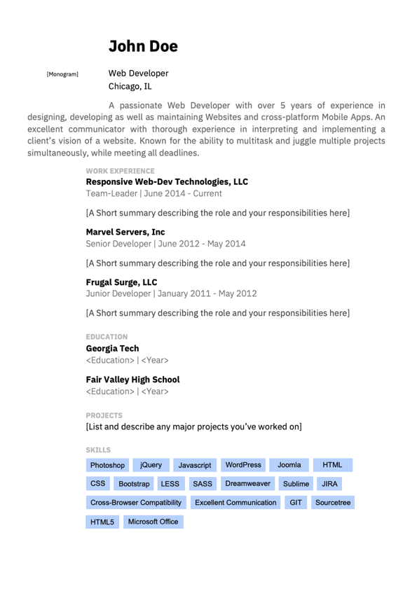 Free Resume Pdf from d3pbdh1dmixop.cloudfront.net