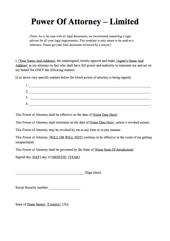 power of attorney form filled out  Power of Attorney Form | Free Download | What is Power of ...
