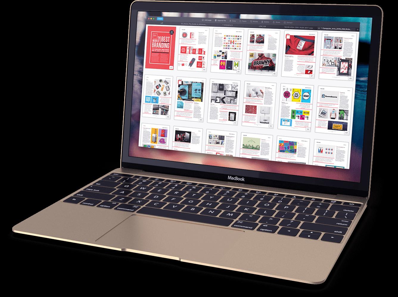 how do i edit a pdf on a macbook air