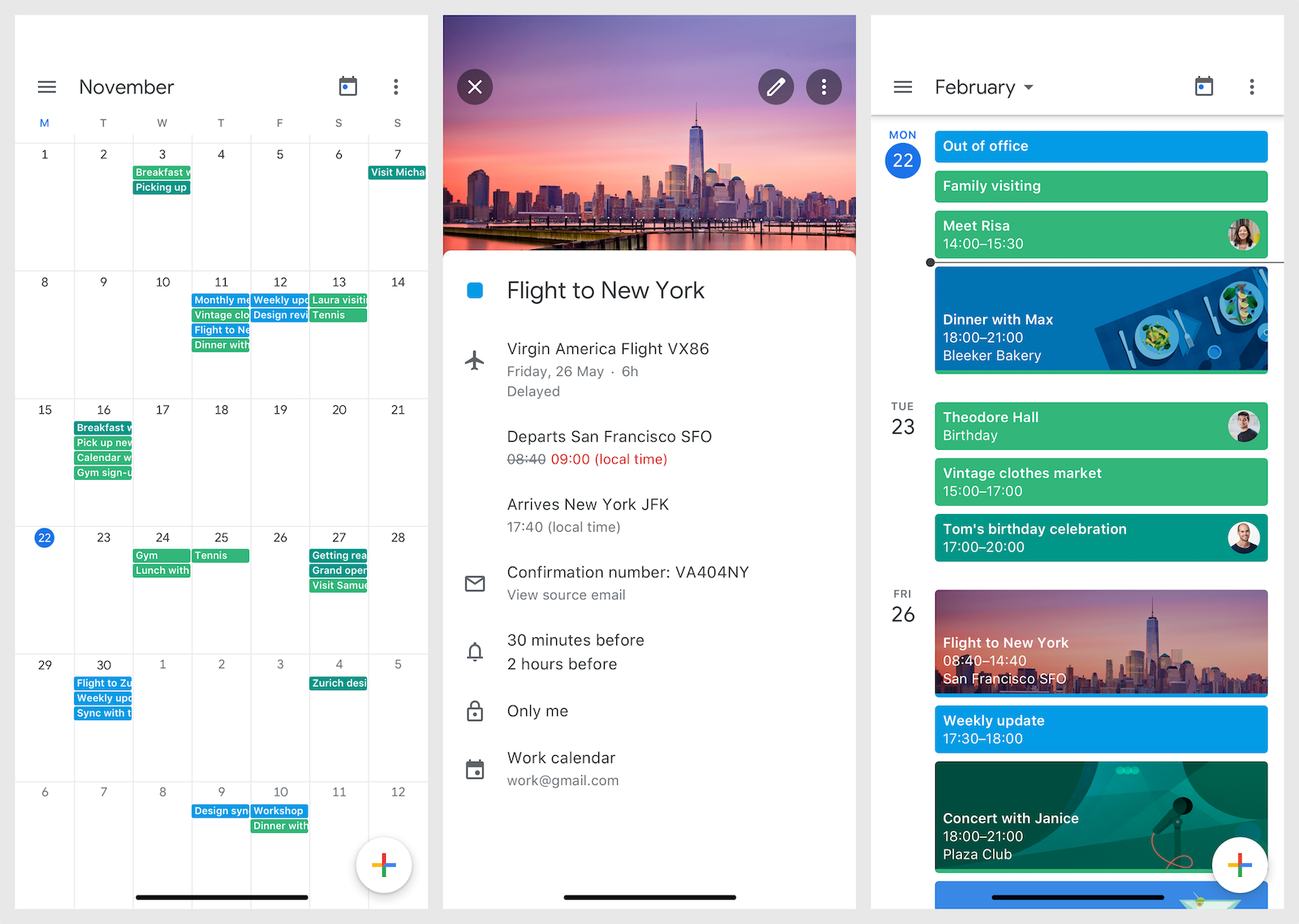 free calendar apps for iphone