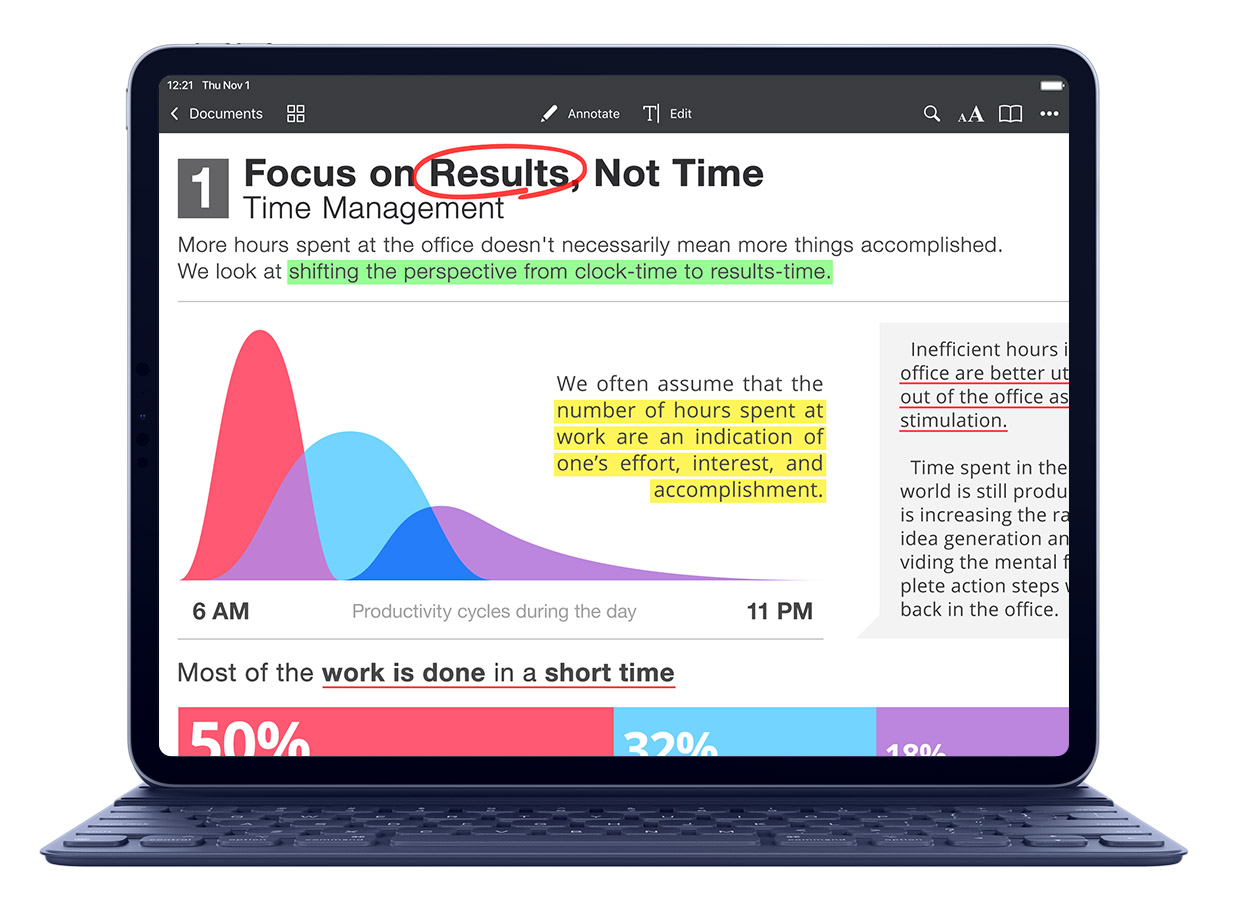 PDF Expert now supports new iPad Pro