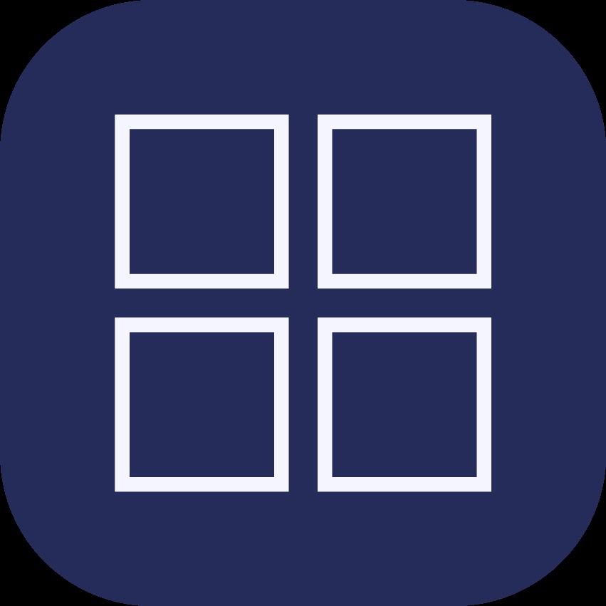 The four squares icon