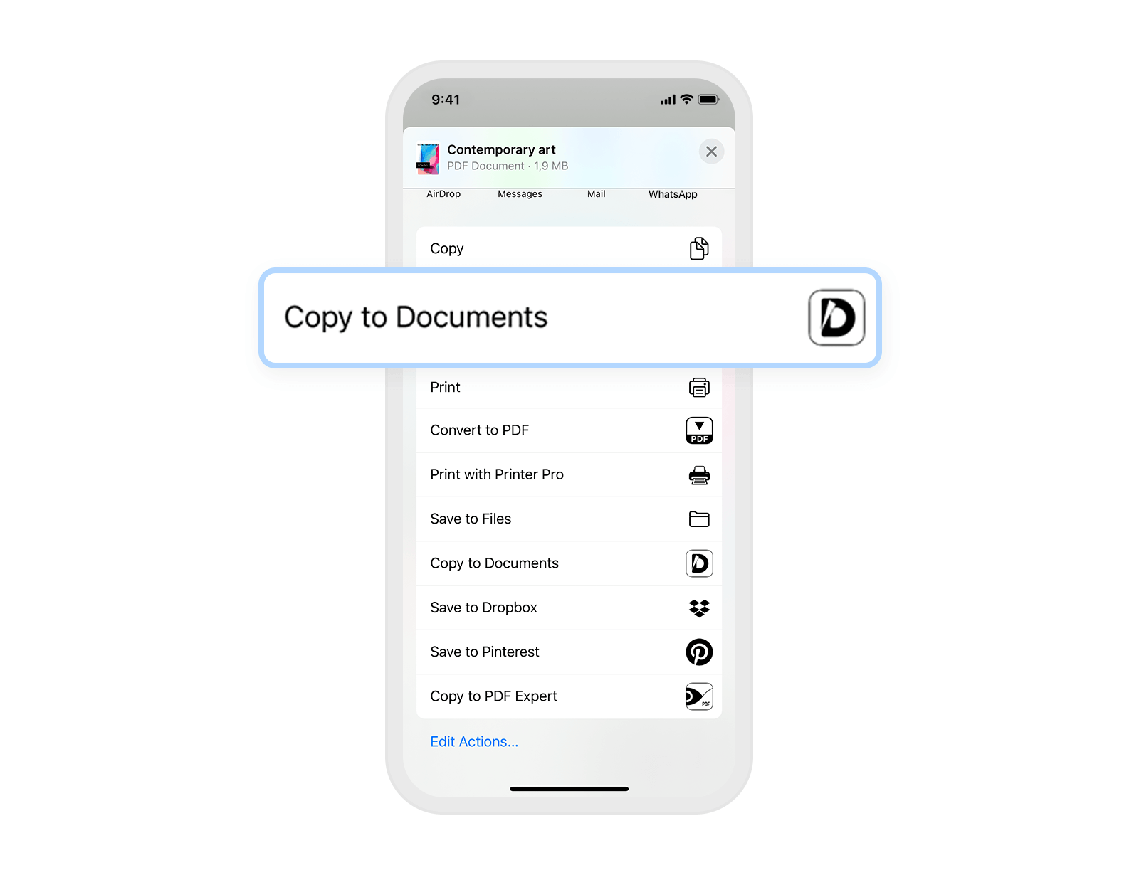How to save email attachments on iPhone