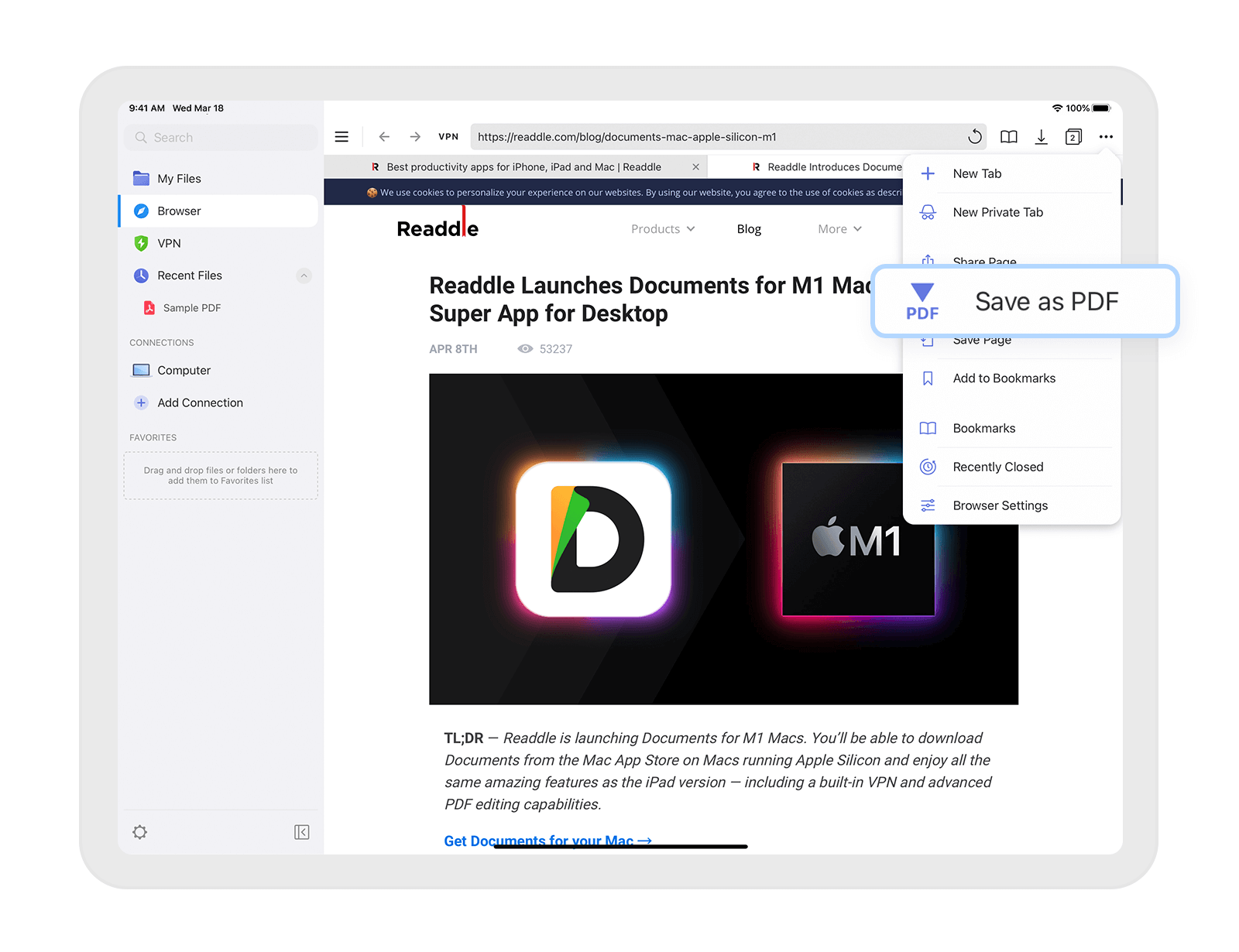 How to Save Webpage on iPhone and iPad
