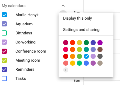 Image result for how do i share my google calendar with others?