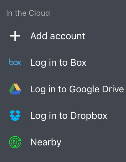 How to download Dropbox or Google Drive files to iPhone and iPad