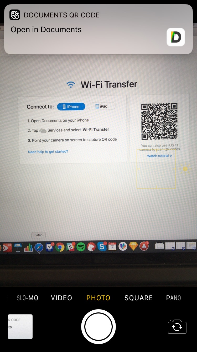 how to create a qr code for a video on ipad