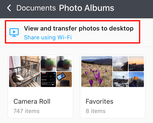 How to Transfer Pictures from iPhone to Computer | Documents