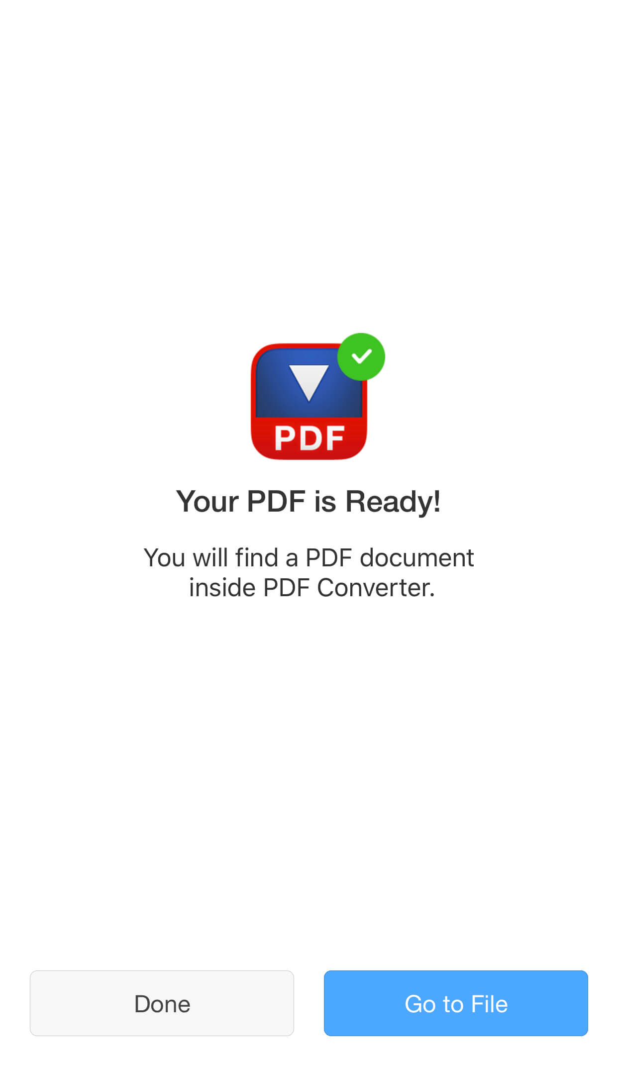 Convert Documents to PDF on iPhone and iPad