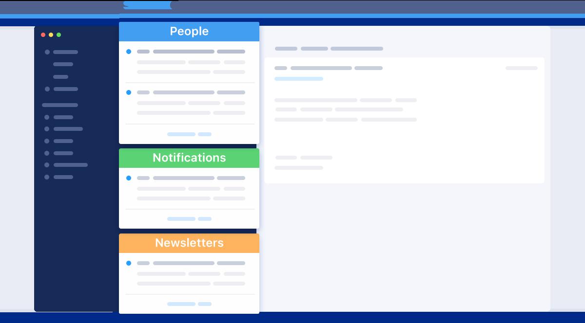 Smart Inbox in Spark screenshot