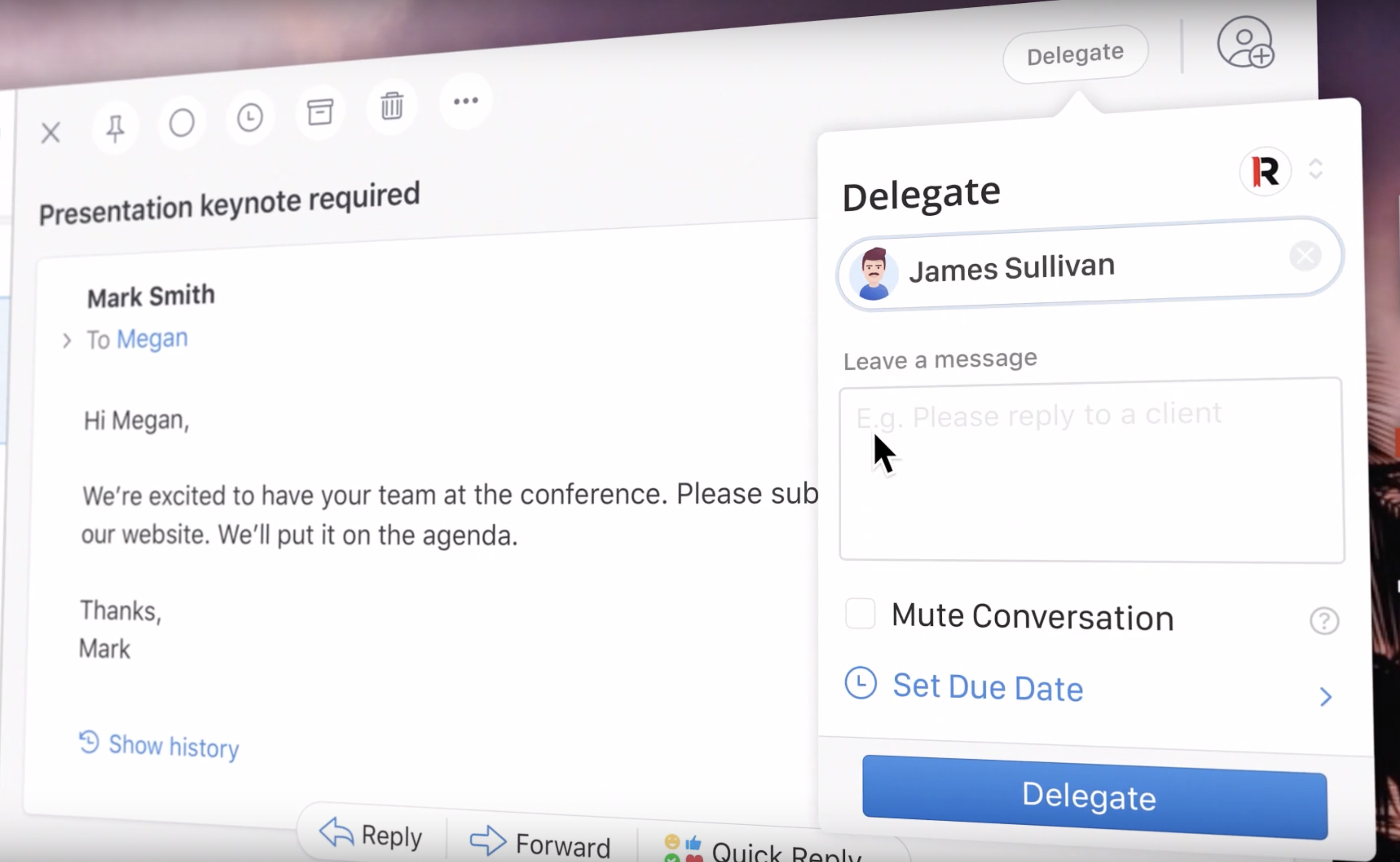 Introducing Email Delegation in Spark
