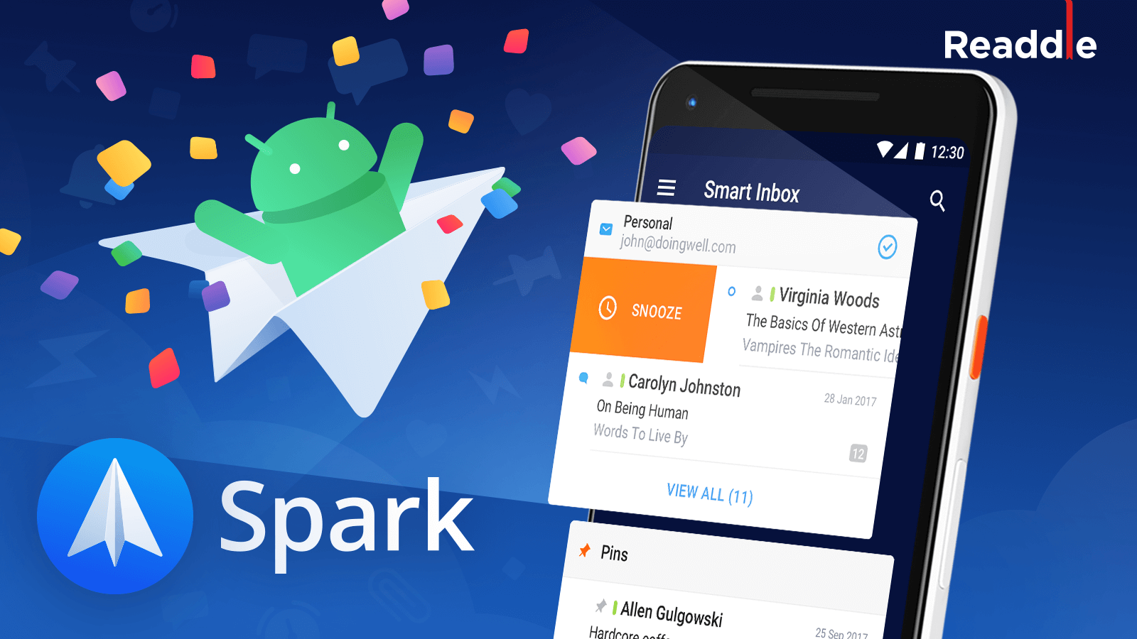 Spark for Android: Readdle's take on the Future of Email