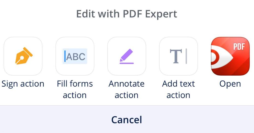 How to Edit and Sign PDF Attachments On The Go using Spark