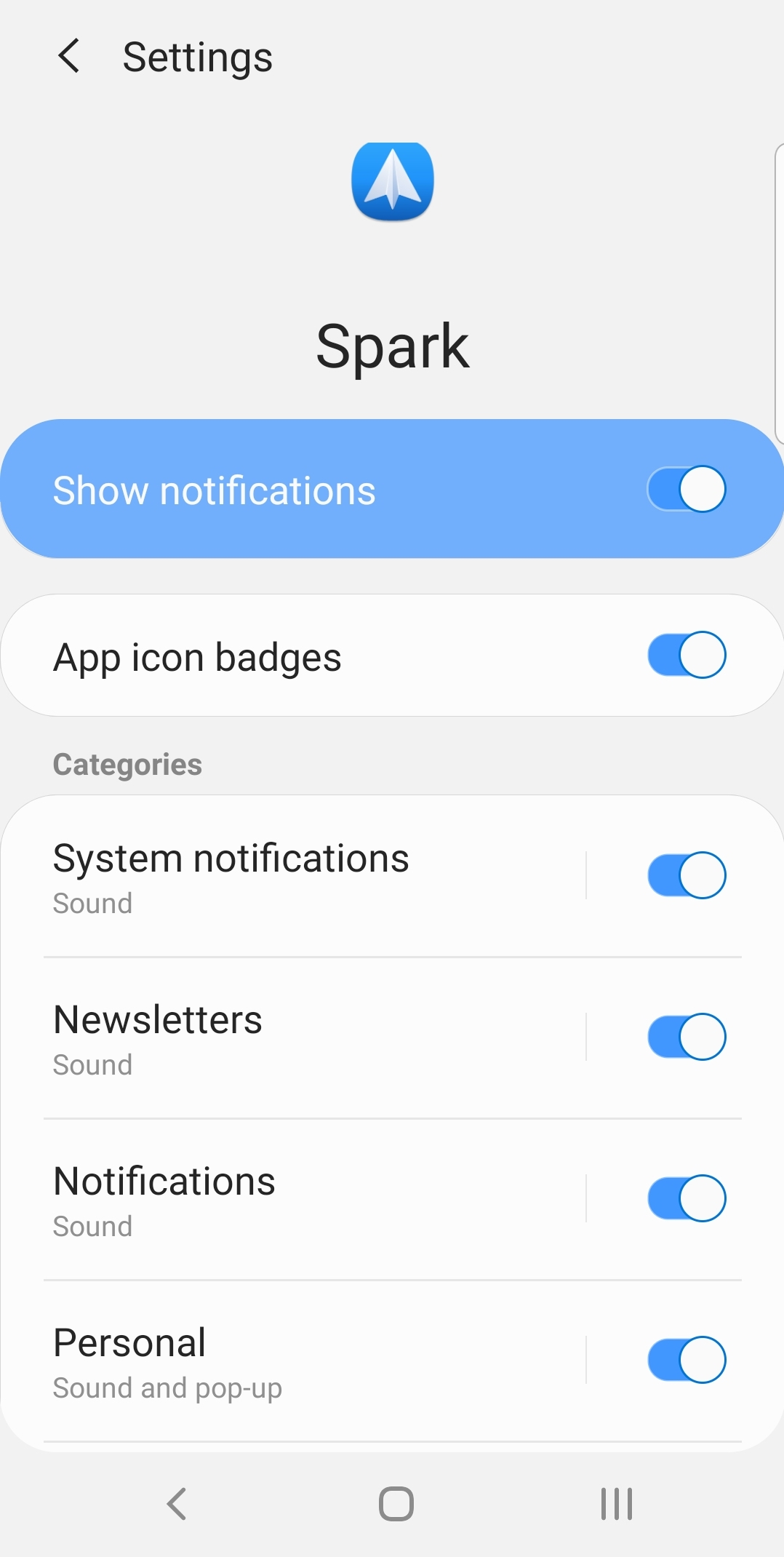 How to manage email notifications | Spark Help Center